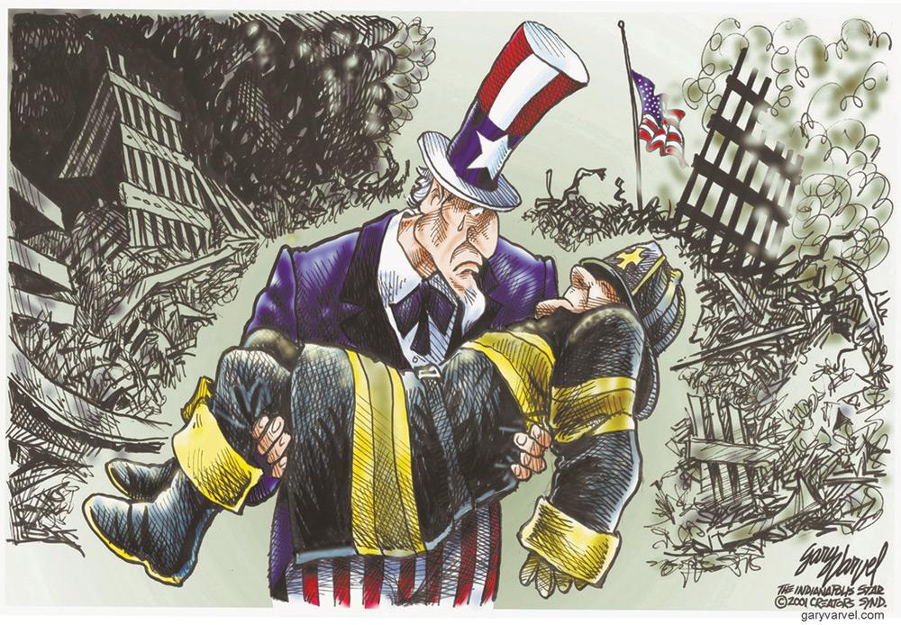 Gary Varvel for Sep 11, 2011 Comic Strip