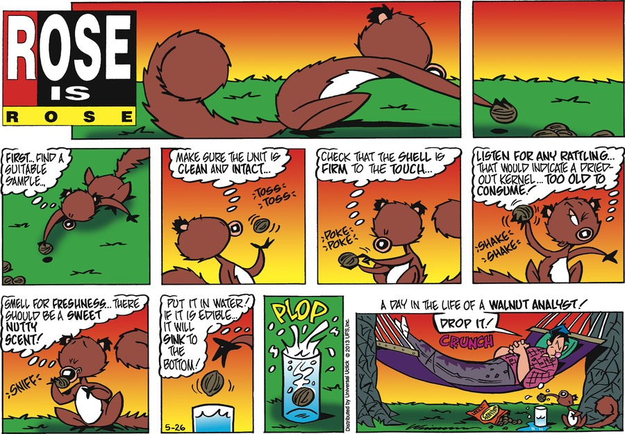 Rose is Rose for May 26, 2013 Comic Strip
