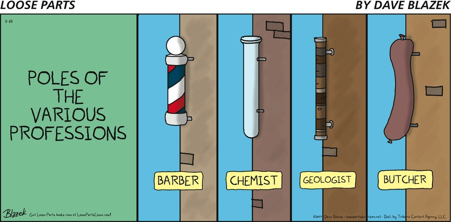 Loose Parts Comic Strip for May 25, 2014