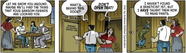 Alley Oop on Thursday April 25, 2019 Comic Strip