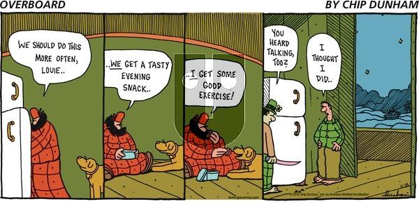 Overboard on Sunday November 18, 2018 Comic Strip