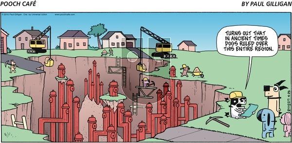 Pooch Cafe - Sunday April 26, 2015 Comic Strip