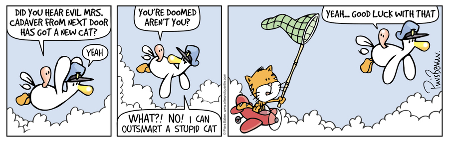 Ollie and Quentin for May 9, 2016 Comic Strip