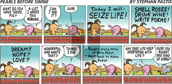 Pearls Before Swine on Sunday March 17, 2019 Comic Strip