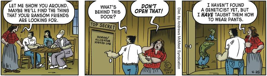 Alley Oop Comic Strip for April 25, 2019