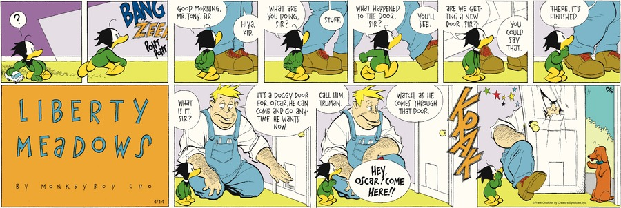 Liberty Meadows for Apr 14, 2013 Comic Strip
