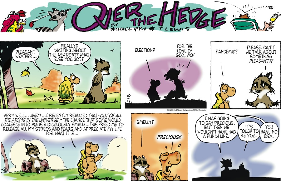 Over the Hedge Comic Strip for October 11, 2020