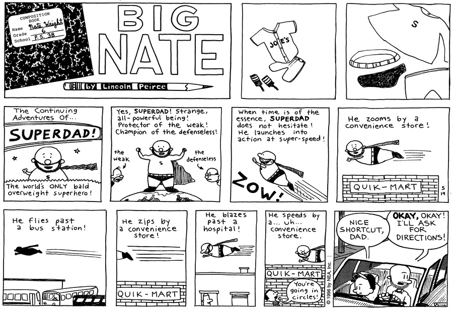 Big Nate: First Class Comic Strip for May 30, 2021