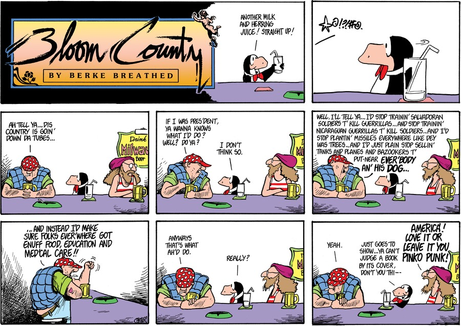 Bloom County by Berkeley Breathed for March 09, 2019
