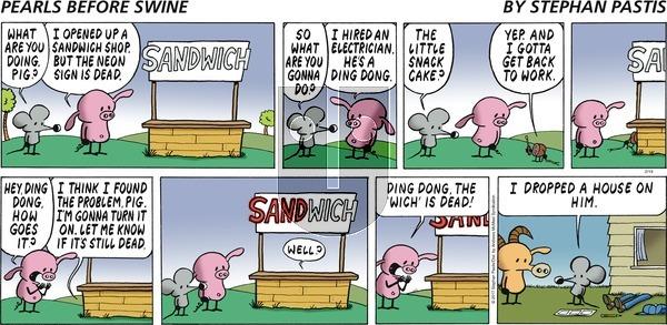 Pearls Before Swine - Sunday February 19, 2017 Comic Strip