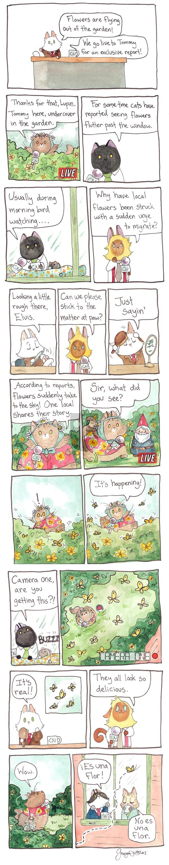 Breaking Cat News on Sunday January 8, 2017 Comic Strip