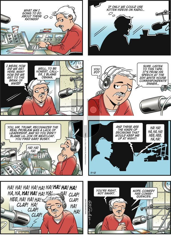 Doonesbury on Sunday November 12, 2017 Comic Strip