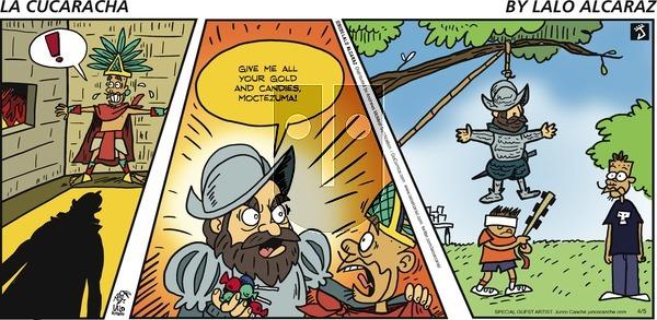 La Cucaracha - Sunday April 5, 2020 Comic Strip