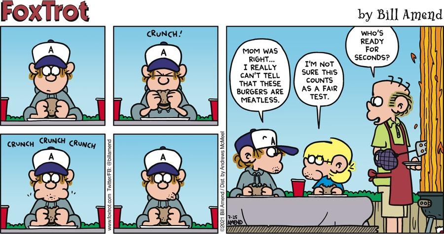 FoxTrot Comic Strip for July 25, 2021