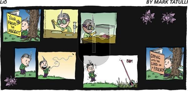 Lio on Sunday April 14, 2013 Comic Strip