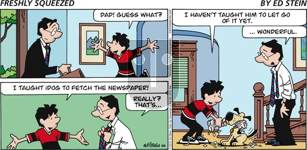 Freshly Squeezed - Sunday June 21, 2020 Comic Strip