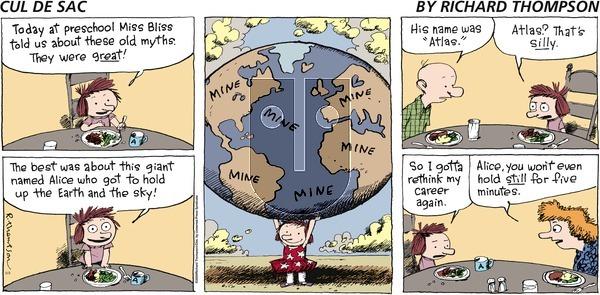 Cul de Sac - Sunday May 3, 2009 Comic Strip