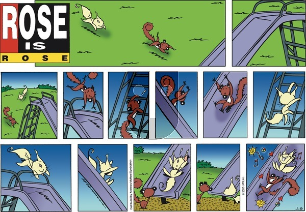 Rose is Rose on Sunday April 5, 2020 Comic Strip