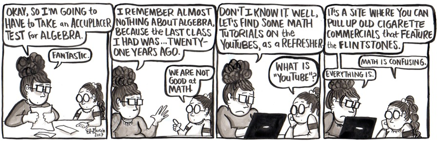 Amanda the Great for Apr 9, 2017 Comic Strip