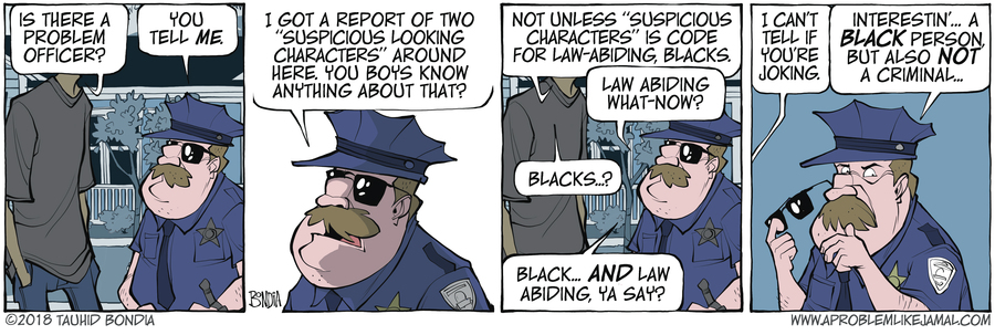 A Problem Like Jamal Comic Strip for October 12, 2018