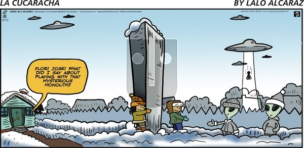 La Cucaracha on Sunday January 17, 2021 Comic Strip