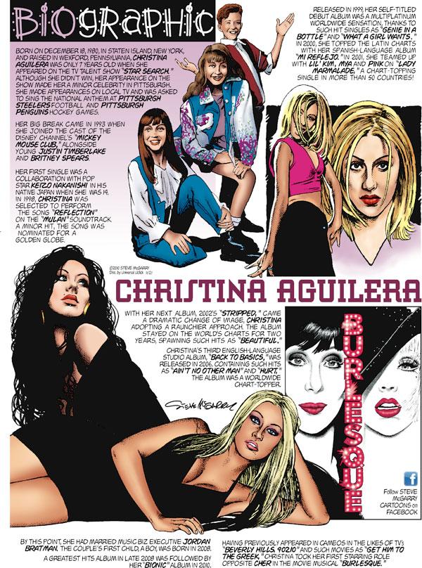 Biographic Comic Strip for November 21, 2010