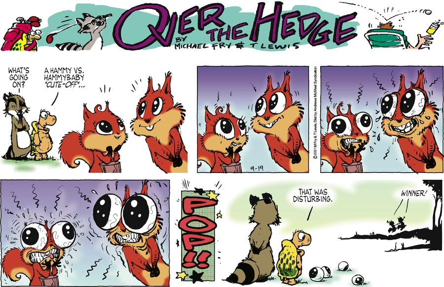 Over the Hedge Comic Strip for September 19, 2021