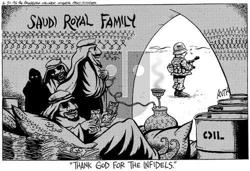 Tony Auth on Sunday June 30, 1996 Comic Strip
