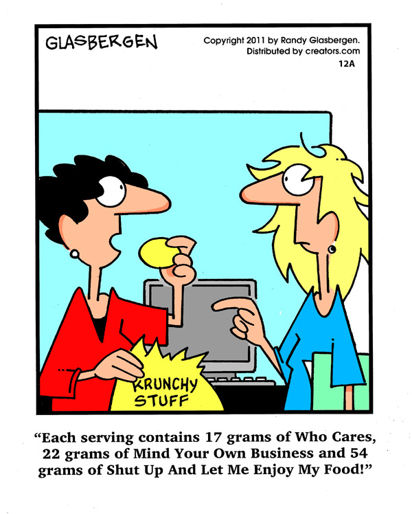 Thin Lines Comic Strip for December 05, 2011