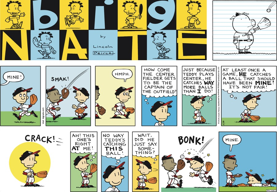 Big Nate Comic Strip for August 04, 2019