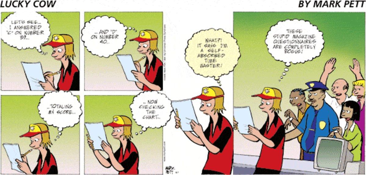 Lucky Cow Comic Strip for September 17, 2021