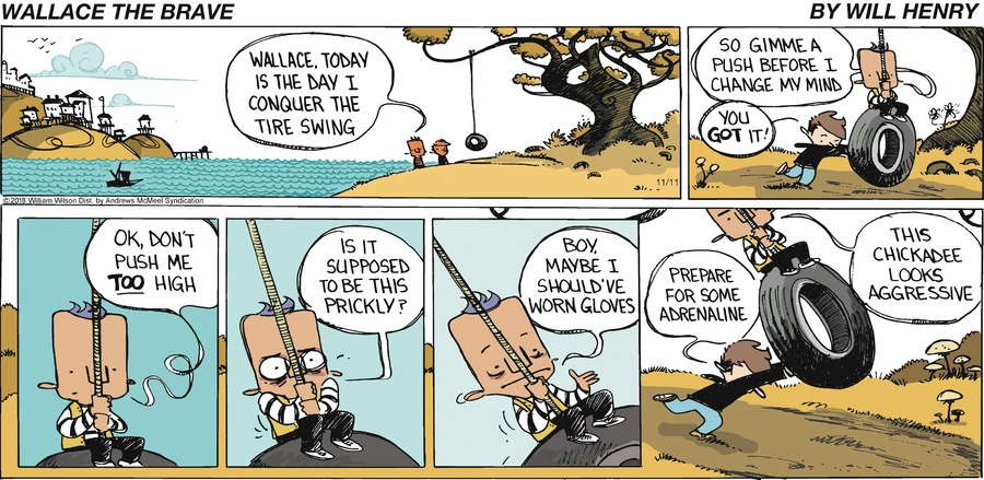 Wallace the Brave Comic Strip for November 11, 2018
