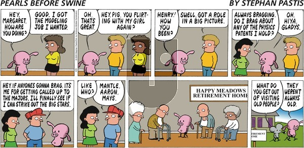 Pearls Before Swine on Sunday April 26, 2020 Comic Strip
