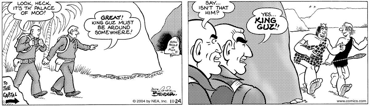 Alley Oop Comic Strip for November 24, 2004