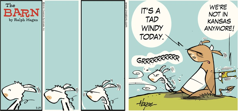 The Barn Comic Strip for May 29, 2016