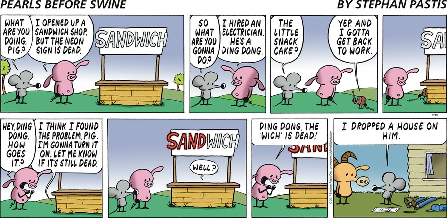 Pearls Before Swine for Feb 19, 2017 Comic Strip