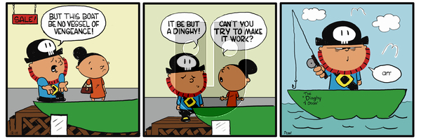 Pirate Mike on December 10, 2018 Comic Strip
