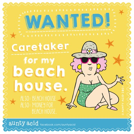 Aunty Acid Comic Strip for May 09, 2021