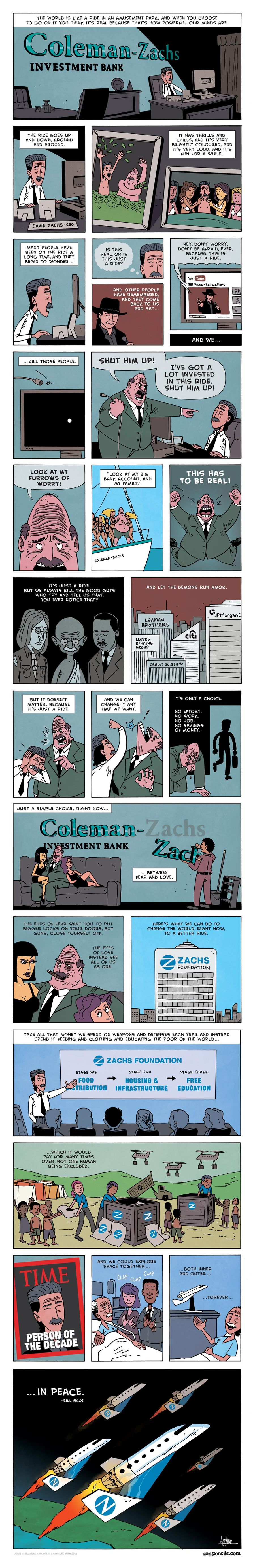 Zen Pencils for Nov 7, 2016 Comic Strip