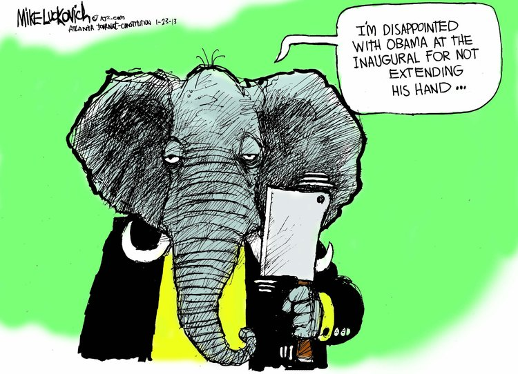 Mike Luckovich Comic Strip for January 23, 2013