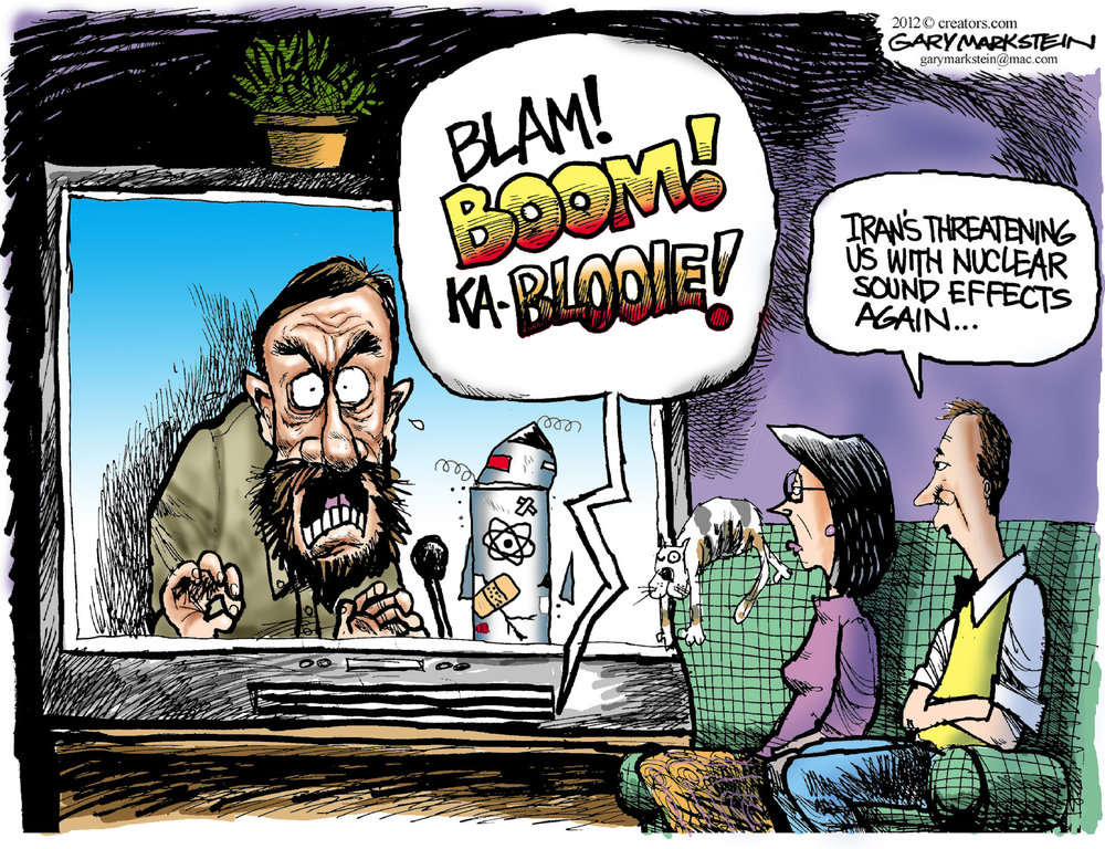Gary Markstein Comic Strip for February 16, 2012