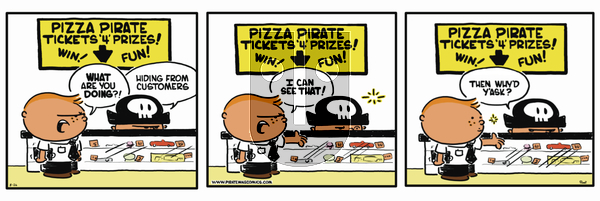Pirate Mike on Thursday February 21, 2019 Comic Strip