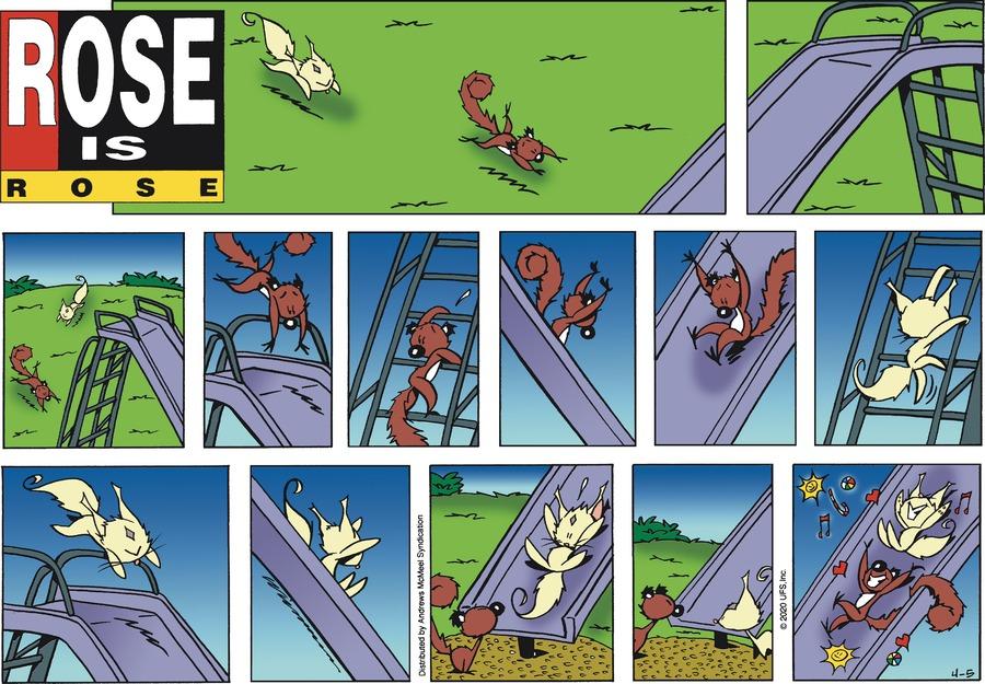 Rose is Rose Comic Strip for April 05, 2020