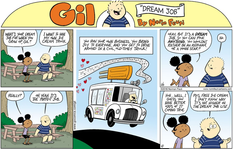 Gil Comic Strip for May 17, 2020