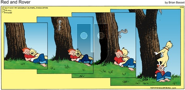 Red and Rover on Sunday July 23, 2017 Comic Strip