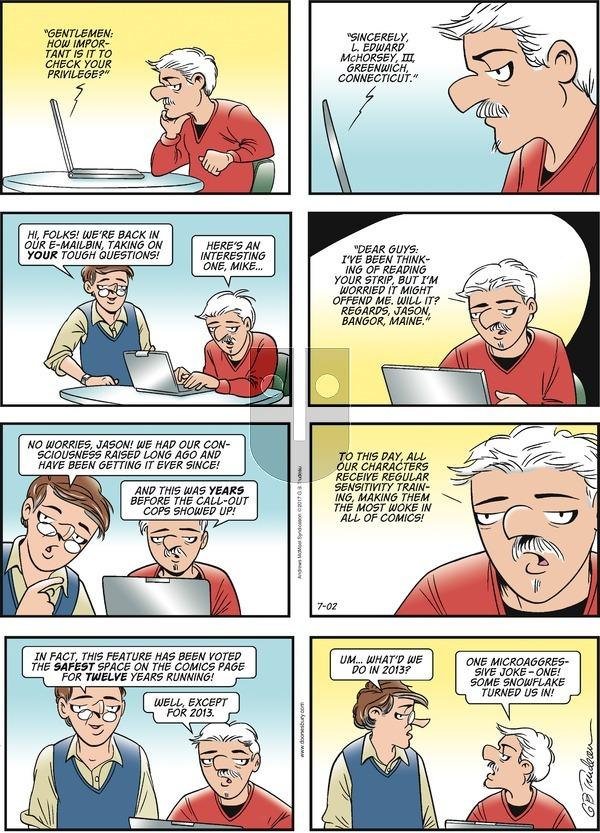 Doonesbury on Sunday July 2, 2017 Comic Strip