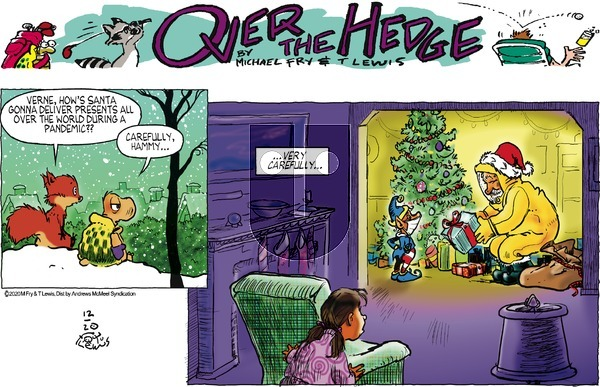 Over the Hedge on Sunday December 20, 2020 Comic Strip