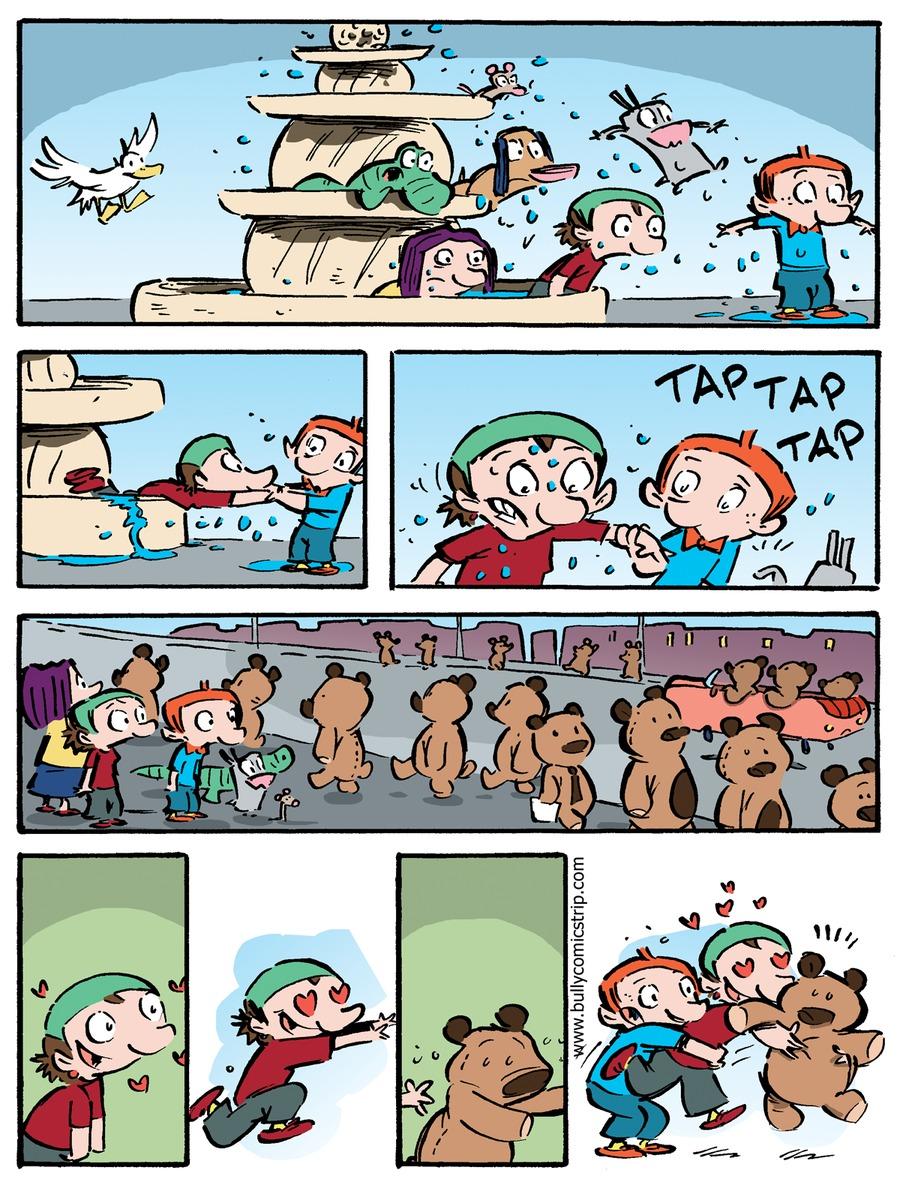 Bully for Feb 18, 2018 Comic Strip