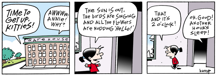 Ten Cats Comic Strip for March 08, 2016