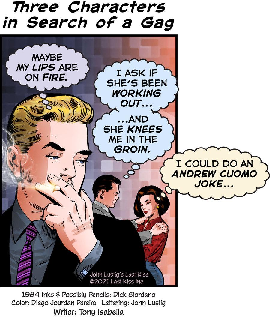 Last Kiss Comic Strip for September 24, 2021